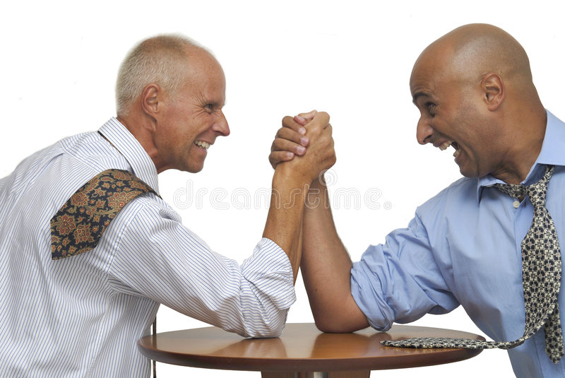 Download Arm Wrestling Royalty Free Stock Images - Image: 8010059