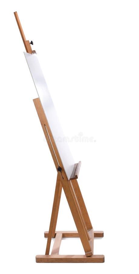 Armação com lona em branco imagem de stock