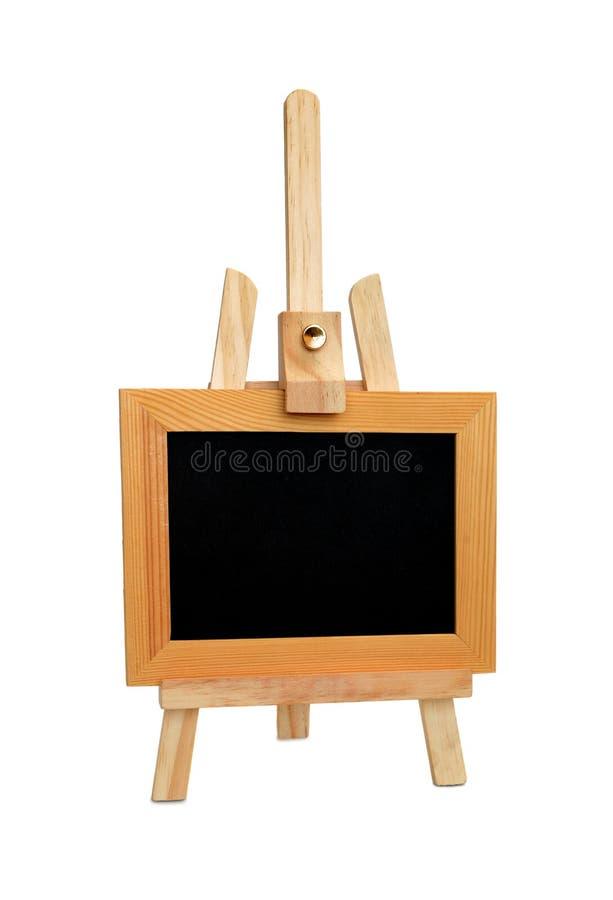 Armação e placa preta imagem de stock