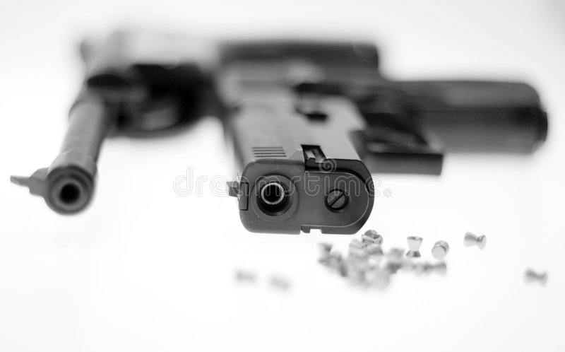 Arma fotografía de archivo libre de regalías