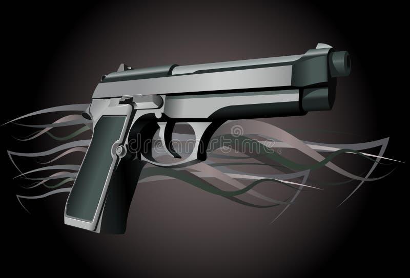 Arma stock de ilustración