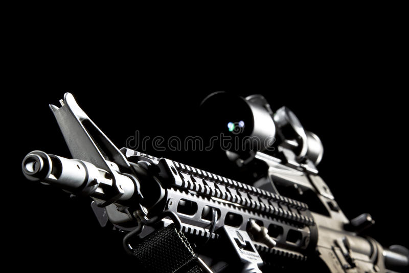 Arma AR-15 imágenes de archivo libres de regalías