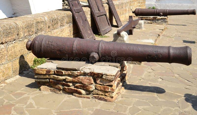 Arma, cañón foto de archivo
