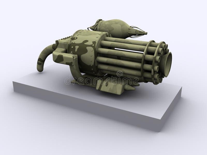 Download Arma da fantasia ilustração stock. Ilustração de equipamento - 103962
