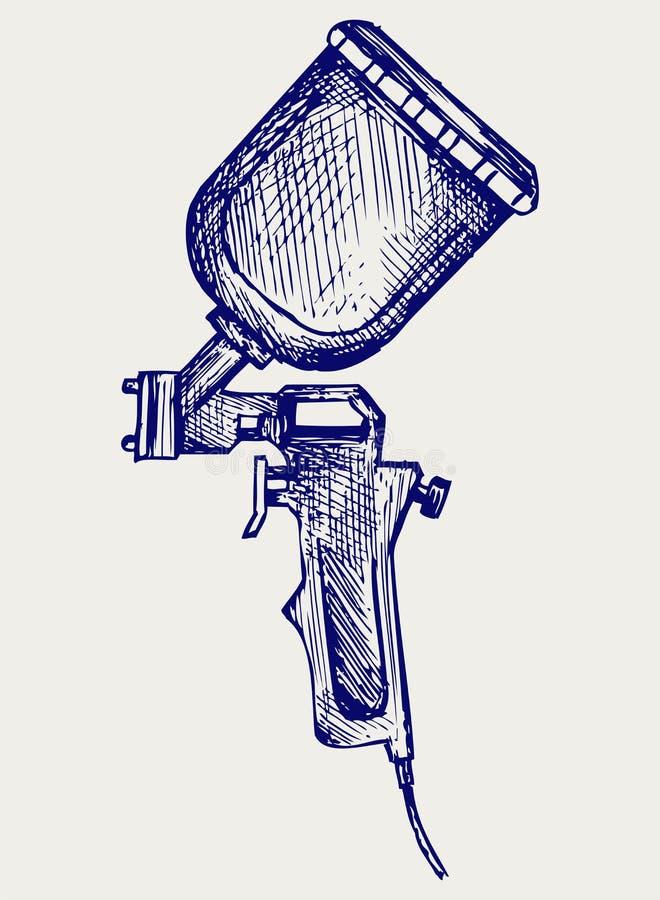 Arma de aerosol libre illustration