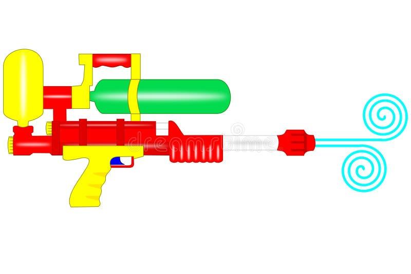 Arma de agua fotos de archivo