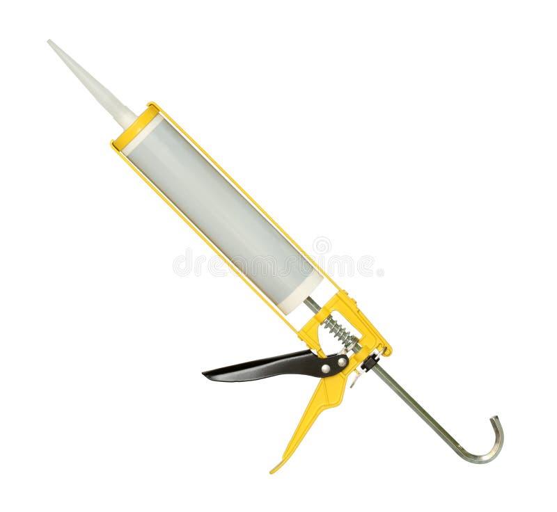 Arma de colagem do silicone fotos de stock royalty free