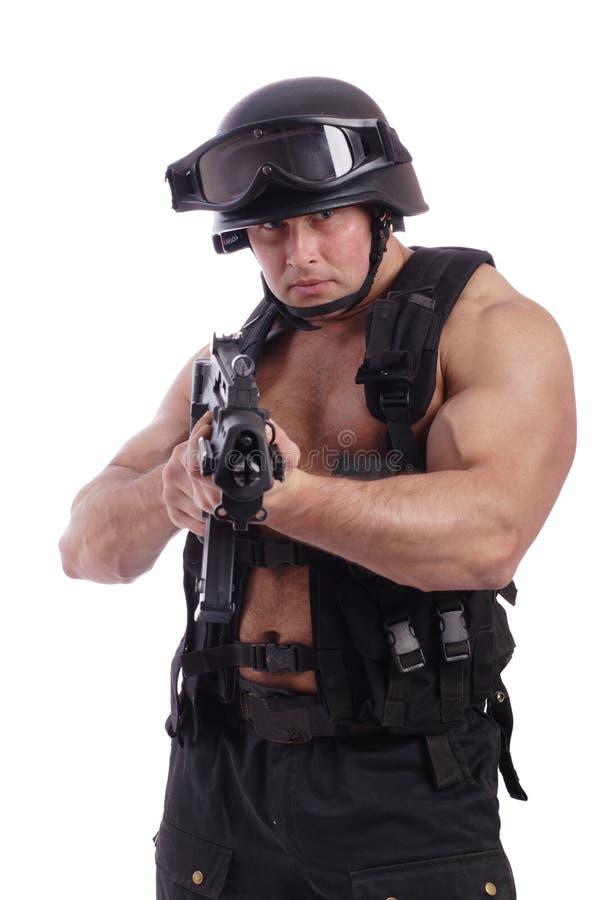 Arma de fogo foto de stock