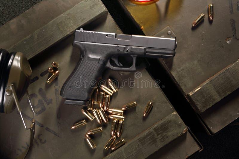 Arma de fuego de Glock imágenes de archivo libres de regalías