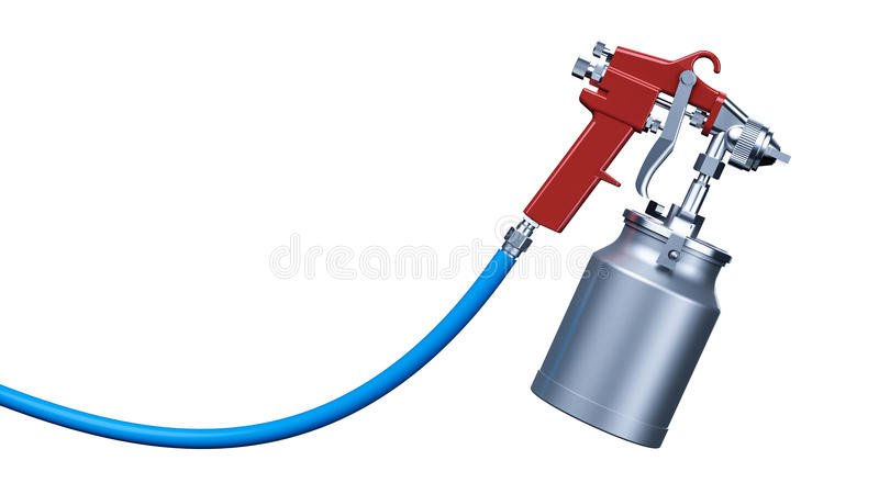 Arma de pulverizador ilustração do vetor