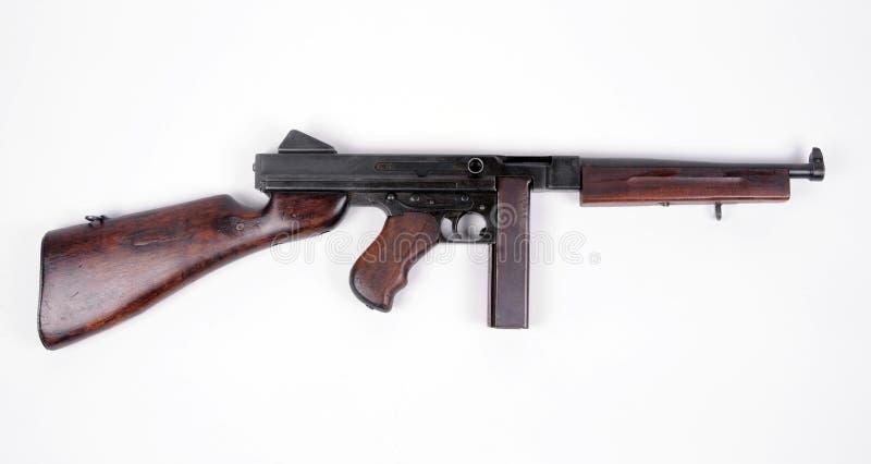 Arma de Tommy americano. fotografía de archivo libre de regalías