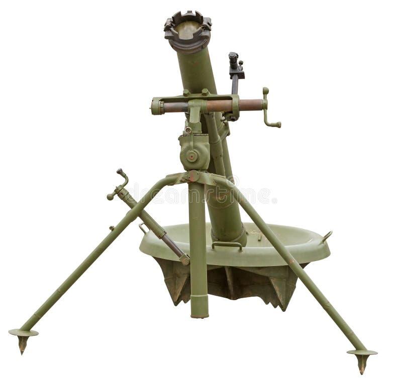Arma del cañón del mortero foto de archivo libre de regalías