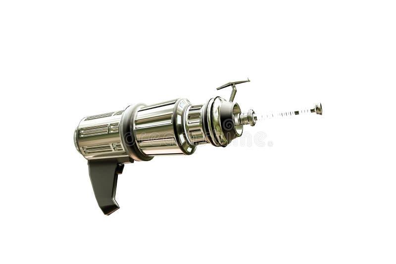 Arma del espacio del metal stock de ilustración