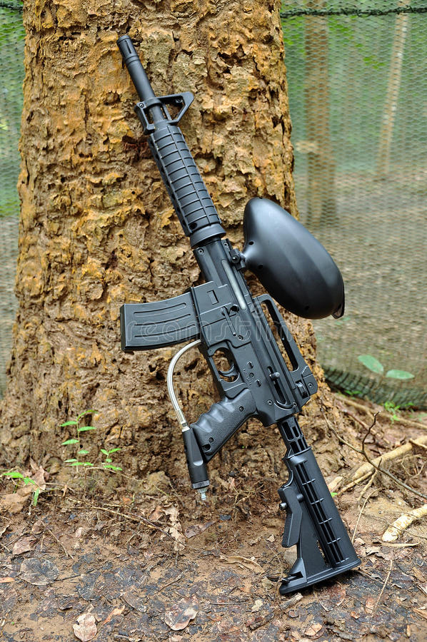 Arma del Paintball imagen de archivo