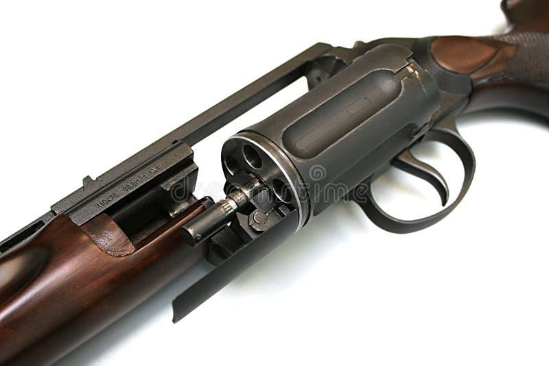 Arma di caccia fotografia stock