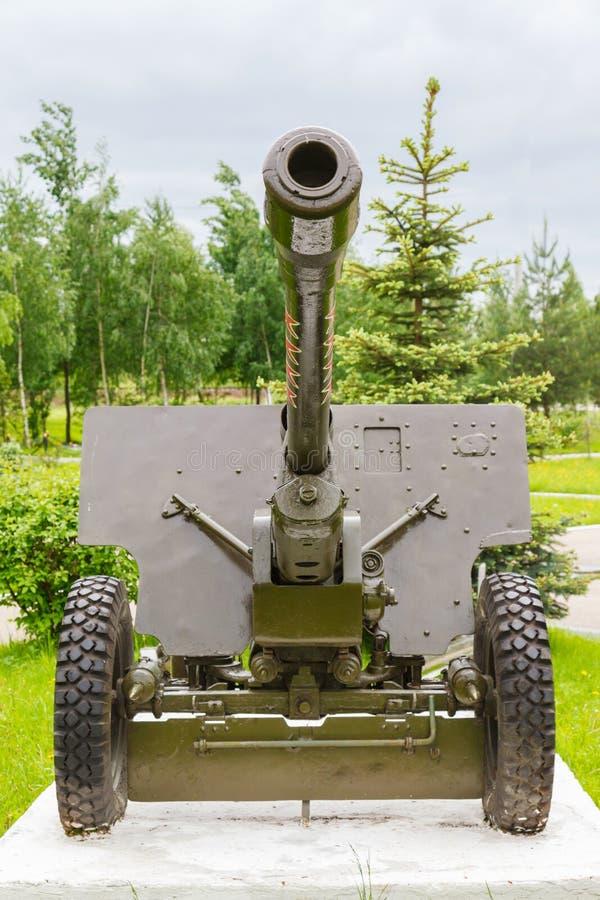 Arma divisional soviético Zis-3 fotos de archivo libres de regalías