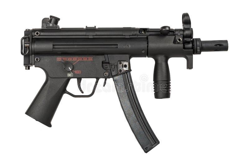 Arma do airsoft do estilo MP5 fotografia de stock