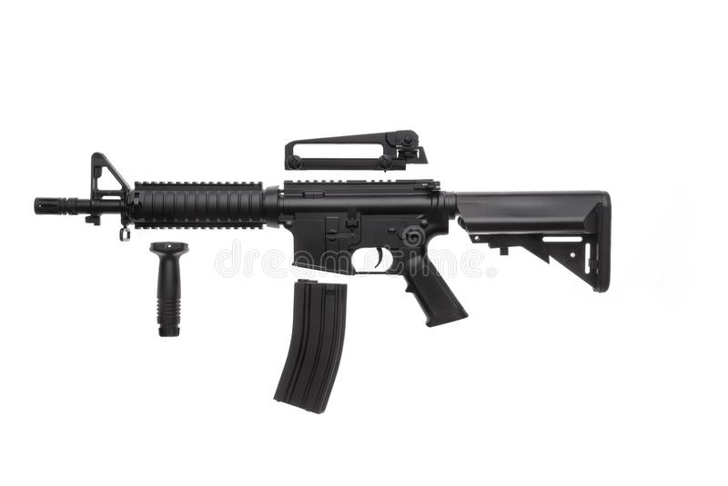Arma isolada AR-15 fotos de stock