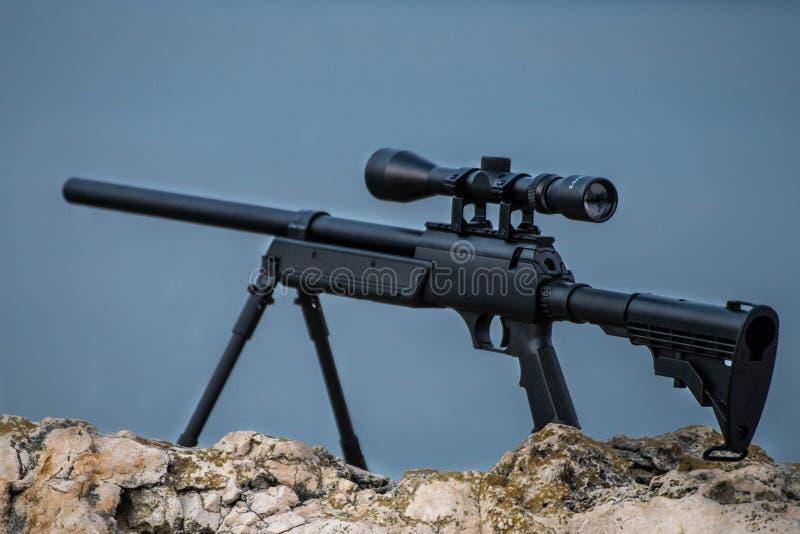 Arma macia do ar foto de stock