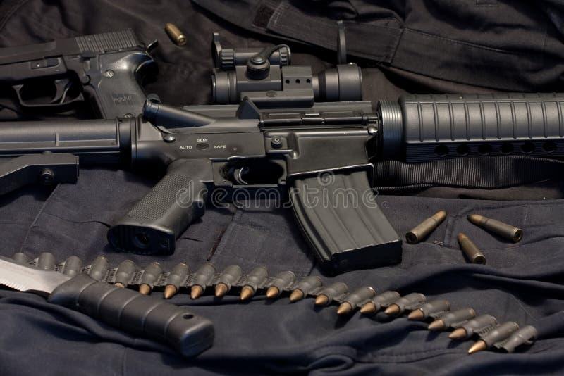 Arma moderna M4 immagini stock libere da diritti