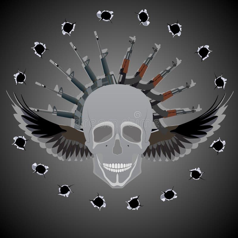 Arma mortale illustrazione vettoriale