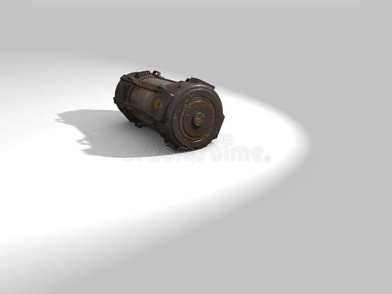 Arma química ilustração stock