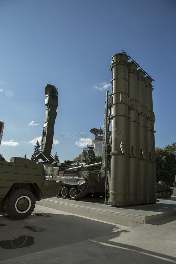 Arma rusa de la defensa fotografía de archivo