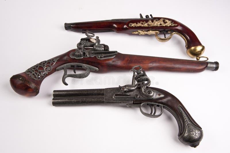 Arma viejo de la vendimia fotografía de archivo libre de regalías