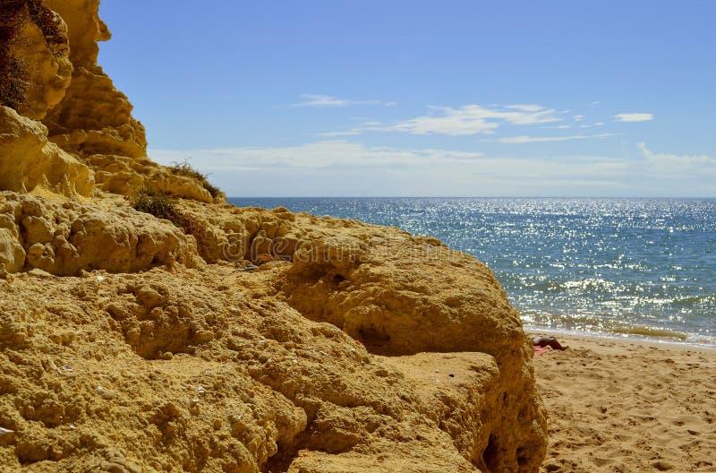 Armacao De Pera Beach fotografia stock libera da diritti