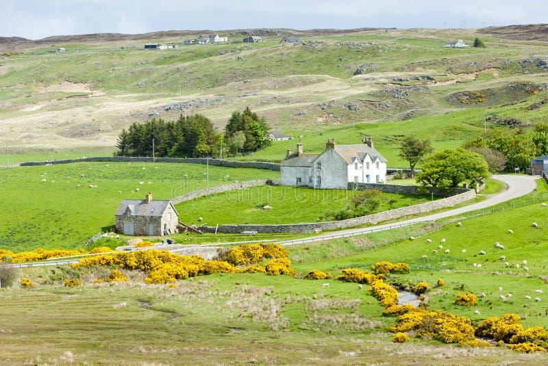 Armadale Bay. Landscape at Armadale Bay, Highlands, Scotland royalty free stock photos