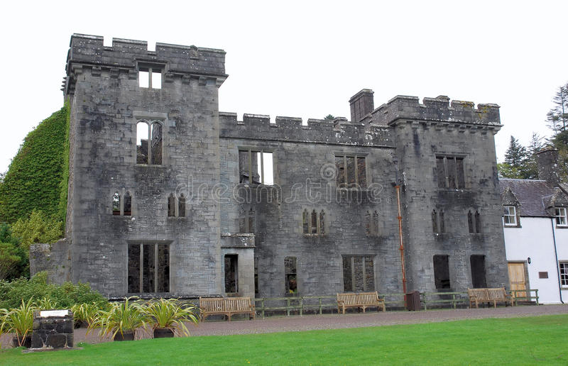 Download Armadale Castle stock image. Image of gothic, castle - 13071549
