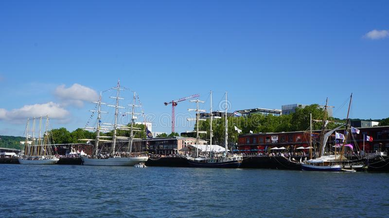 Armadan, Rouen, 2019, Frankrike arkivbild