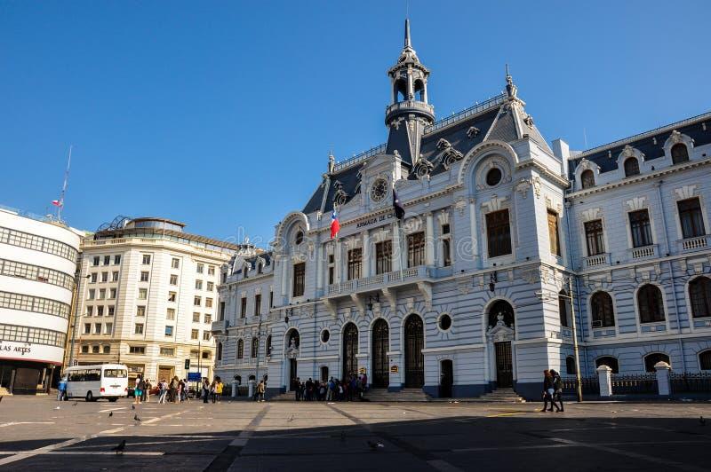 Armade de Chile miejsce w Valparaiso, Chile obraz royalty free