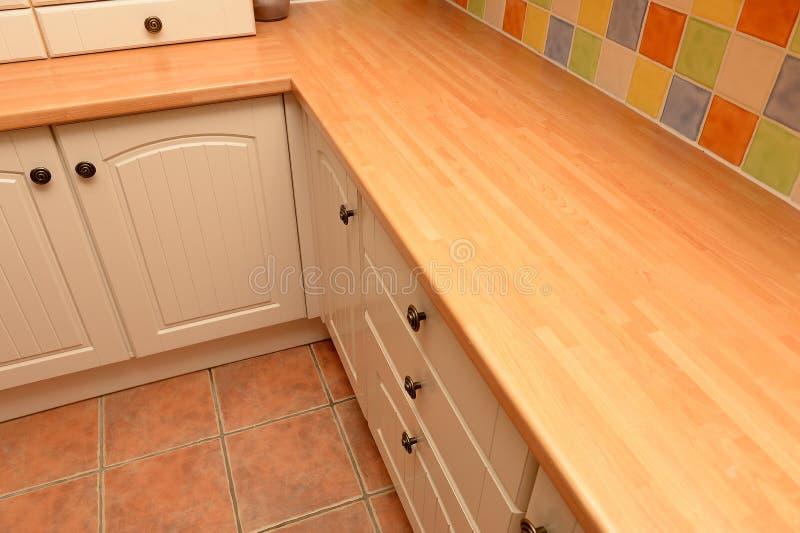 Armadietti e piano di lavoro della cucina immagine stock immagine di grano worktop 38103557 - Piano della cucina ...