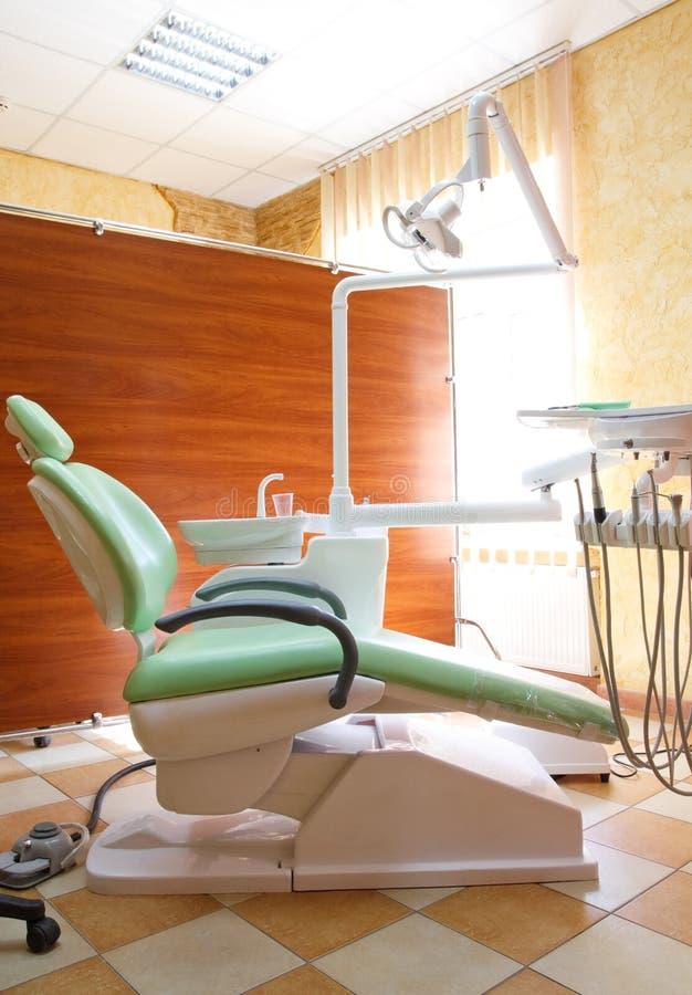 Armadietto dentale moderno immagini stock libere da diritti