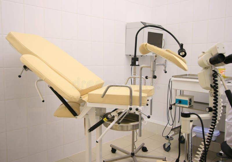 Armadietto di Gynecology fotografia stock