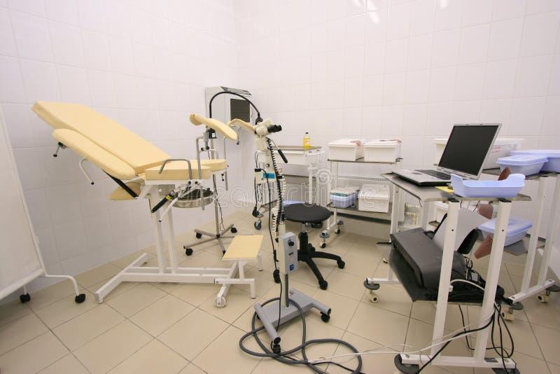 Armadietto di Gynecology fotografia stock libera da diritti