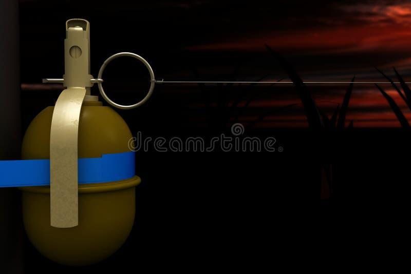Armadilha da granada fotos de stock royalty free