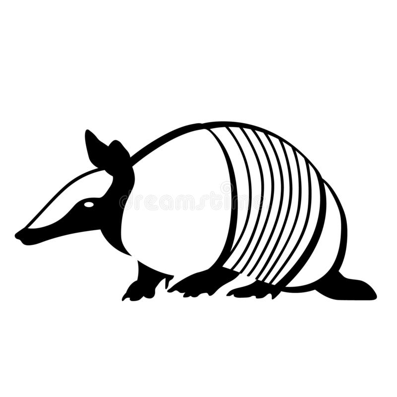 Armadillo Hand drawn Crafteroks svg free, free svg file, eps, dxf, vector, logo, silhouette, icon, instant download, digital downl. Armadillo vector eps, Hand royalty free illustration