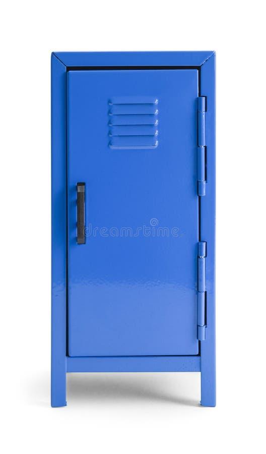 Armadio blu immagini stock