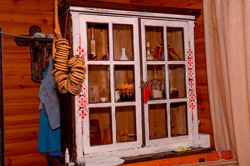 Armadio da cucina ucraino fotografia stock