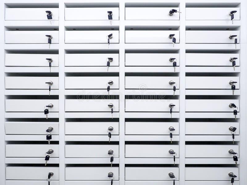 Armadio nel condominio immagine stock libera da diritti