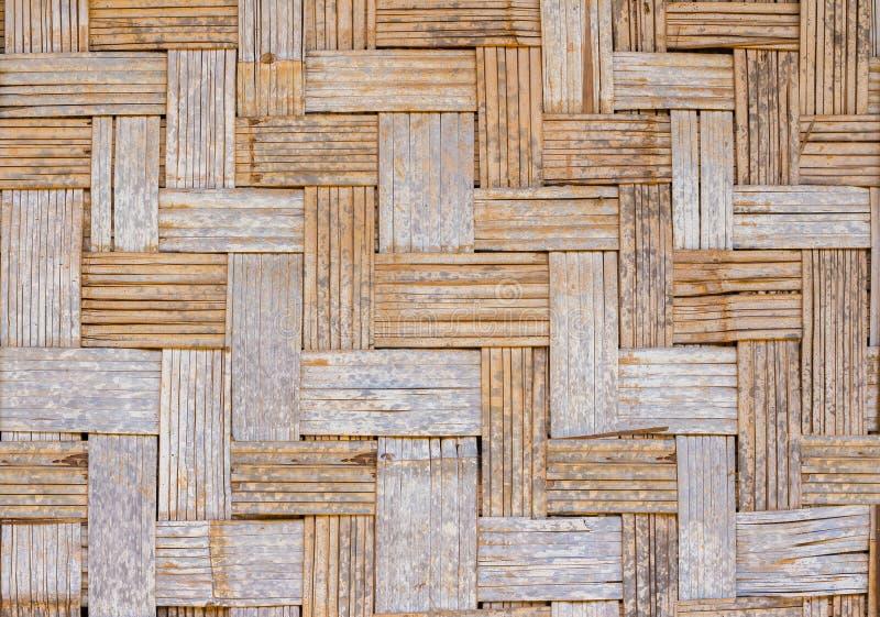 Armadura de bambú de la pared imagen de archivo libre de regalías