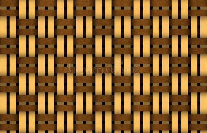 Armadura de cesta ilustración del vector