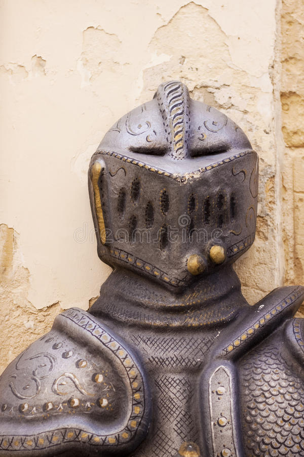 Armadura de corpo medieval imagem de stock