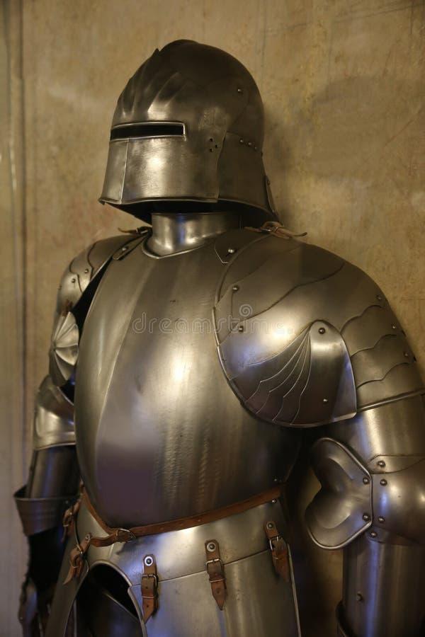 Armadura de um cavaleiro imagens de stock