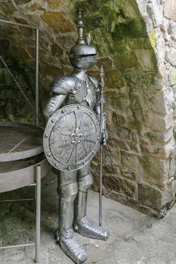 Armadura do cavaleiro fotografia de stock royalty free