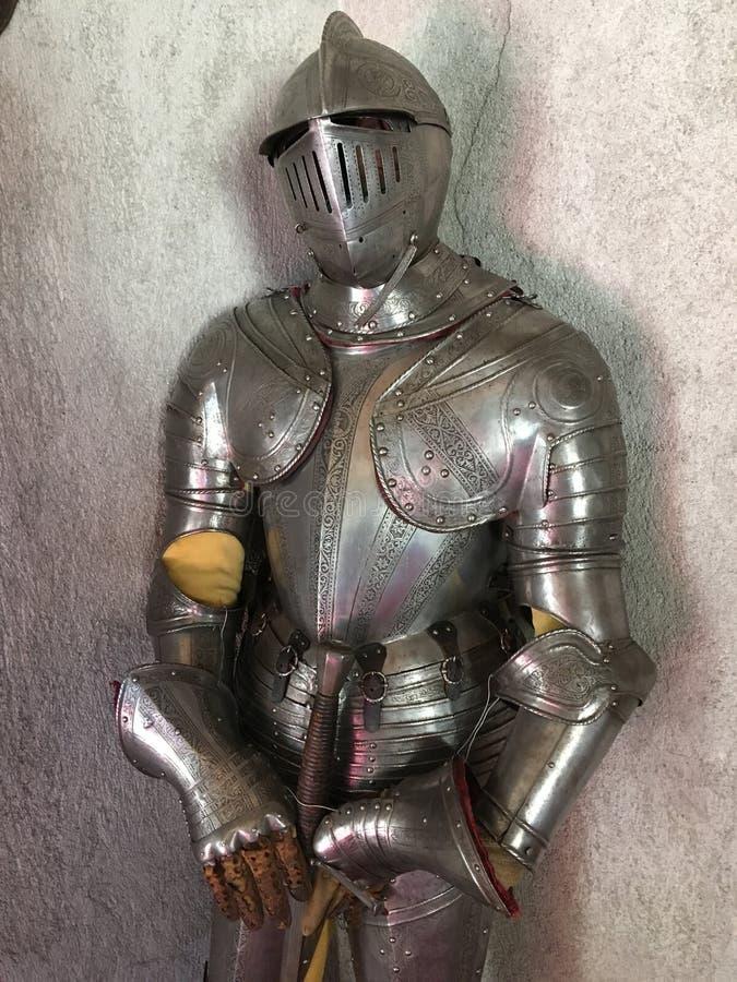 Armadura do cavaleiro imagem de stock royalty free