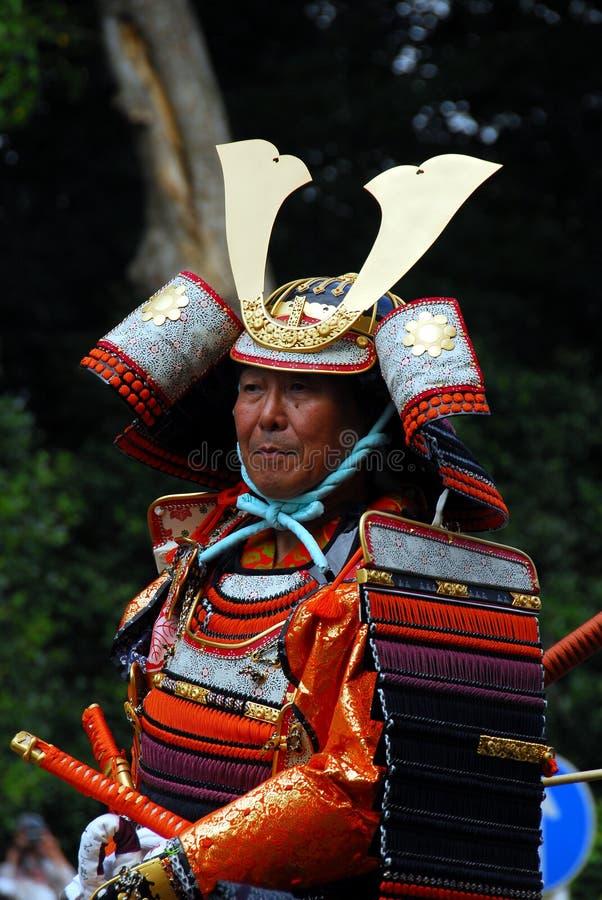 Armadura do samurai fotos de stock royalty free
