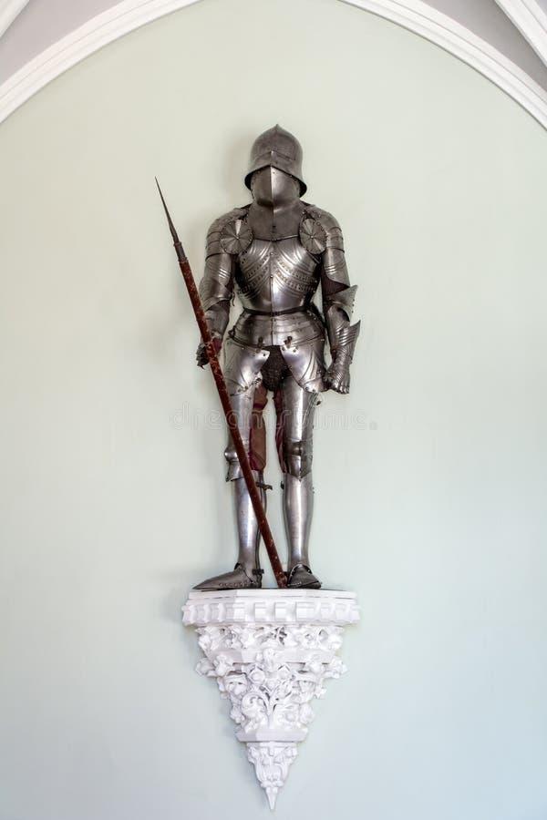 Armadura medieval do ` s do cavaleiro fotos de stock